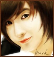 Leeteuk painting by ApiluLIZARD