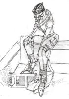Spelter Currus - Sketch by o-WingedPanther-o