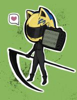 Celty chibi by MisChibiOus