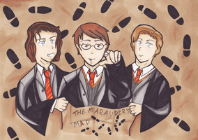 The Marauders by EmailinasBrother