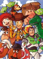TOY STORY by Jeetdoh