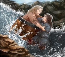 The hobbit desolation of smaug - Fili x Kili by maXKennedy