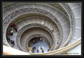 stairs at the museum by jochniew