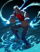 Young Justice Aqualad by biggreenpepper