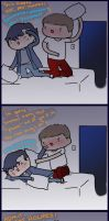 Pillow Fight by Onewingedjeeby