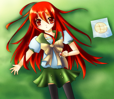 Shakugan no Shana by Astelyn