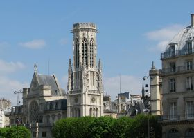 Place 327 - St Germain Church in Paris by Momotte2stocks