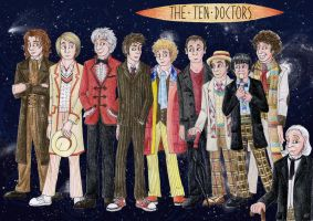 The Ten Doctors by Atarial