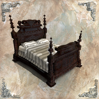 Final Project Prop - Bed by kewel72000