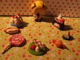 Mini Misa's Sculpy Kitchen by Strawberry-Crepe