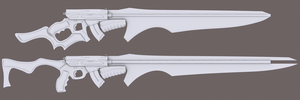 Gunblade Concept by ShitsoCash