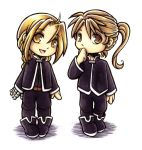 FMA - The little Elrics by kishokahime