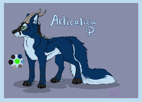 Articalica ref remake by nightspiritwing