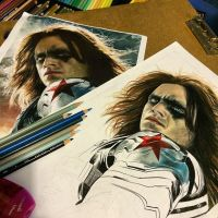 Winter Soldier WIP #1 by Tabitha138