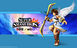 Pit Wallpaper - Super Smash Bros. Wii U/3DS by AlexTHF