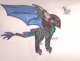Dragon Kya (REDESIGN) by Azul-Assassin