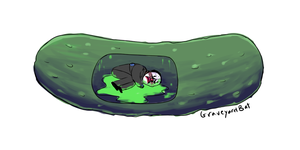 CHAINS IS IN A PICKLE by GraveyardBat