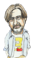 Portrait of Matt Groening by JackRaz