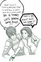 Beifong Lessons: No. 1: Catching Bad Guys by PentaghastRogue