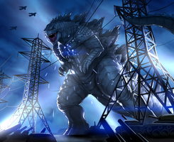 Godzilla's Coming To Tokyo by Warriorking4ever