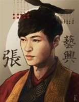 chinese prince yixing by genicecream