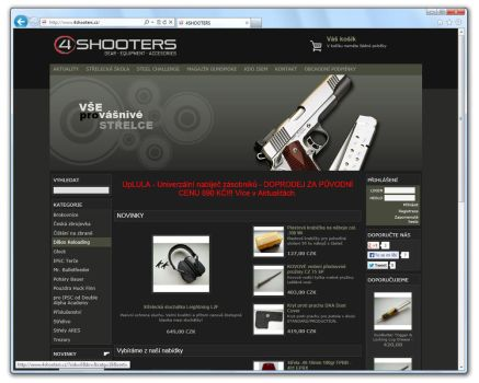 www.4SHOOTERS.cz [ProFact 3.0 E-SHOP] by eXmind-ProFact