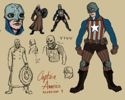 Captain America Redesign 1 by genesischant