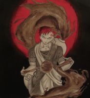Naruto's Gaara of the Desert by JEURO85