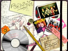 paramore fan scrapbook by kaylahh-x