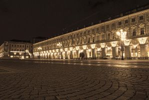 Piazza San Carlo HDR by LittleObserver