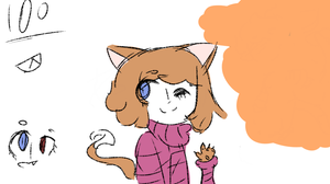 Marble the kitter by ArbusPuffs