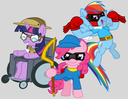 The Pinkie Gang by Death-Driver-5000