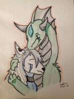 .:in your arms:. by Dragon-of-Faith