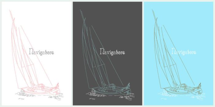 Navigators Shirt Designs by MythicManticore