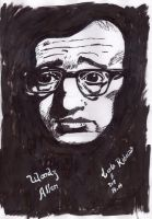 Woody Allen by cahribeiro