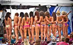 Bikini Contest End by molly12341