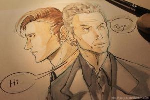 Bye Smith, Hi Capaldi. by Isara-La