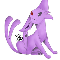 espeon by tabbay