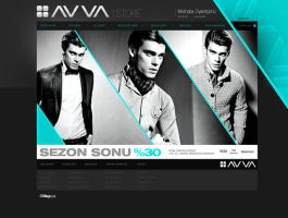 AVVA E-Commerce Web Design by avcibulent