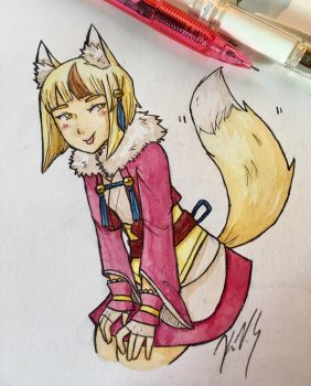 FE: Selkie by gohe1090