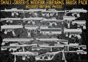 Modern Firearms Brush Pack by small-sk8er