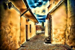 The Little Street by RiegersArtistry
