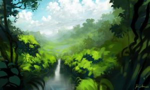 Jungle Painting #2 by KhoaSV