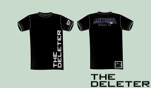T-Shirt - The Deleter by half-brain-monkey