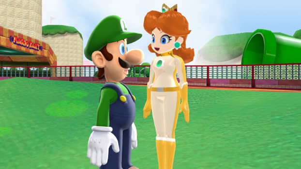 is daisy dating luigi