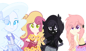 Random OC's as Equestria Girls by NikkiKittyx