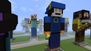 Klonoa on YouAreMinecraft (Side View) by MrChezco1995