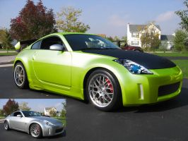 350z Digimod by RaptorKraine