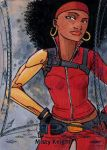 Marvel Premier Misty Knight by KidNotorious
