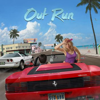 OutRun Tribute by ArtbyBones